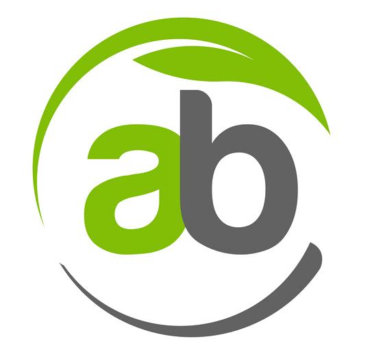A B engineering logo